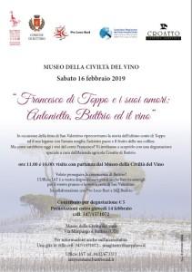 Francesco di Toppo e i suoi amori: Antonietta, Buttrio ed il vino @ Buttrio (Ud)   Buttrio   Friuli-Venezia Giulia   Italia