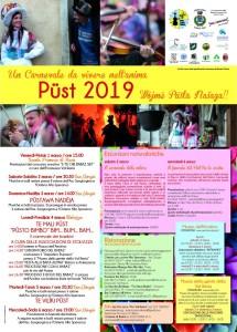 Carnevale Resiano - Pust 2019 @ Resia  | Friuli-Venezia Giulia | Italia