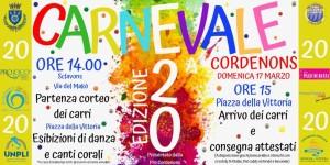 20^ Carnevale di Cordenons @ Cordenons | Cordenons | Friuli-Venezia Giulia | Italia