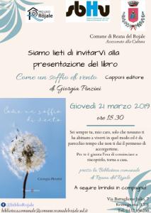 Presentazione del libro ''Come un soffio di vento'' @ Reana del Rojale | Reana del Rojale | Friuli-Venezia Giulia | Italia