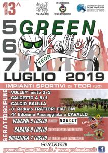 13^ edizione del Green Volley Teor @ Rivignano Teor (Ud) | Rivignano Teor | Friuli-Venezia Giulia | Italia