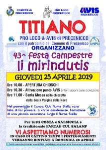 "43° Festa campestre ""LI MIRINDUTIS"" @ Titiano (Ud) | Precenicco | Friuli-Venezia Giulia | Italia"