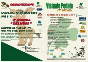 ALLA SCOPERTA DEL NS TERRITORIO con 20'VISINALE PEDALA e 4' MARCIA DEI MUSS @ Visinale di Pasiano (PN)   Friuli-Venezia Giulia   Italia