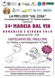 34^ Marcia dal Vin @ Paludea, Castelnovo del Friuli (Pn) | Paludea | Friuli-Venezia Giulia | Italia