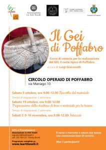 Il Gei di Poffabro - Corso di cesteria avanzato per la realizzazione del cesto tipico di Poffabro a cura di Luigi Giacomelli @ Poffabro (PN) | Poffabro | Friuli-Venezia Giulia | Italia