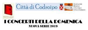 I concerti della domenica 2019 @ Codroipo (Ud)