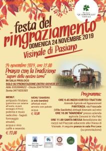 GIORNATA DEL RINGRAZIAMENTO @ PASIANO DI PORDENONE (PN) | Friuli-Venezia Giulia | Italia