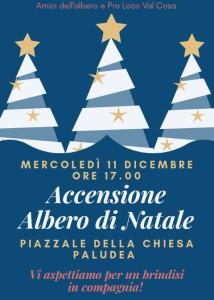 Accensione Albero di Natale @ Paludea, Castelnovo del Friuli (Pn) | Paludea | Friuli-Venezia Giulia | Italia