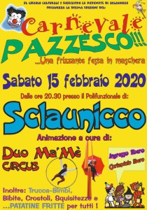 Carnevale Pazzesko @ Sclaunicco (UD)   Sclaunicco   Friuli-Venezia Giulia   Italia