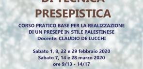 2° CORSO REGIONALE DI TECNICA PRESEPISTICA