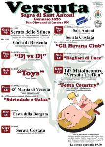 Sagra di Sant'Antoni @ Versuta (PN) | Casarsa della Delizia | Friuli-Venezia Giulia | Italia