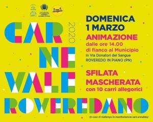 Carnevale Roveredano 2020 @ Roveredo in Piano (PN)   Roveredo in Piano   Friuli-Venezia Giulia   Italia