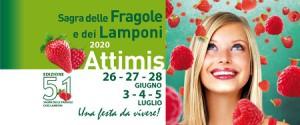 51^ Sagra delle Fragole e dei Lamponi ANNULLATA @ Attimis (UD) | Attimis | Friuli-Venezia Giulia | Italia