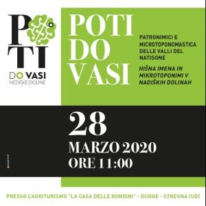 Poti Do Vasi – Patronimici e Microtoponomastica delle Valli del Natisone - RIMANDATO - @ Dughe di Stregna (UD) | Dughe | Friuli-Venezia Giulia | Italia