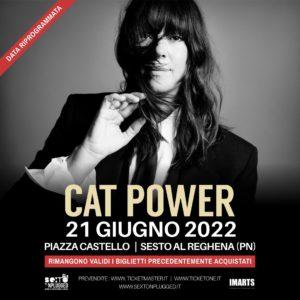 Sexto'Nplugged: CAT POWER in concerto - ANNULLATO @ Sesto al Reghena (Pn) | Sesto Al Reghena | Friuli-Venezia Giulia | Italia