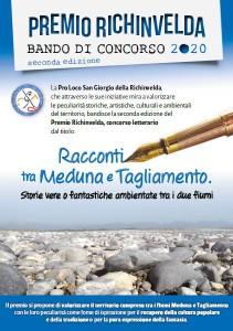 Premio Richinvelda_Concorso Letterario 2020 @ San Giorgio della Richinvelda (PN) | Friuli-Venezia Giulia | Italia
