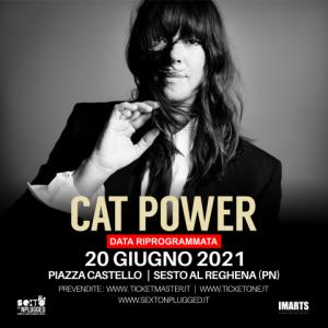 Sexto'Nplugged: CAT POWER in concerto @ Sesto al Reghena (Pn) | Sesto Al Reghena | Friuli-Venezia Giulia | Italia