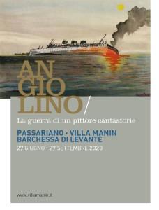 Mostra ANGIOLINO - La guerra di un pittore cantastorie @ Villa Manin di Passariano, Codroipo (Ud) | Passariano | Friuli-Venezia Giulia | Italia