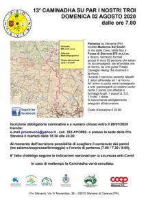 13^ Caminadha su par i nostri troi @ Stevenà (PN) località Madonna dei Scalin, Via Delle Cave | Caneva | Friuli-Venezia Giulia | Italia