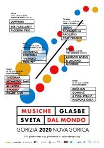 Jazz News n°545 :  Musiche dal Mondo | Glasbe Sveta @ Grad Kromberk (Nova Goricia) | Moncorona | Nova Gorica | Slovenia