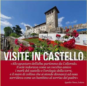 Seconda edizione delle Visite Guidate in Castello @ Castello di Colloredo di M.A. | Colloredo di Monte Albano | Friuli-Venezia Giulia | Italia