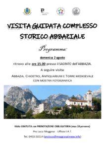 VISITA GUIDATA: Complesso storico abbaziale @ Moggio Udinese (Ud) | Friuli-Venezia Giulia | Italia