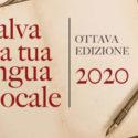 SALVA LA TUA LINGUA LOCALE: Bando 2020