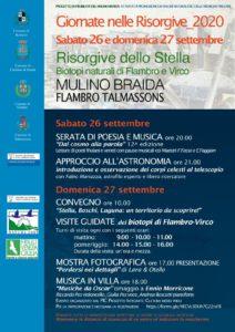 Giornate delle Risorgive 2020 @ Mulino Braida | Talmassons | Friuli-Venezia Giulia | Italia