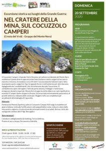 Escursione storica sui Luoghi della Grande Guerra: sul Cocuzzolo Camperi @ Cividale Del Friuli | Cividale del Friuli | Friuli-Venezia Giulia | Italia
