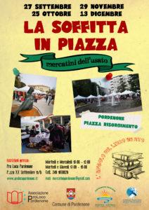 LA SOFFITTA IN PIAZZA E L'ANGOLO DEL LIBRO USATO-evento annullato @ Piazza Risorgimento - Pordenone   Pordenone   Friuli-Venezia Giulia   Italia