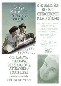 Con l'amata chitarra Gigi si racconta attraverso i suoi libri @ Polse di Côugnes | Friuli-Venezia Giulia | Italia
