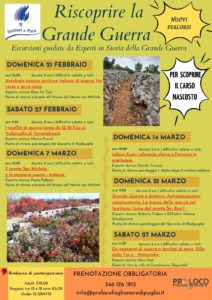 Riscoprire la Grande Guerra RINVIATA @ Fogliano Redipuglia (Go) | Fogliano Redipuglia | Friuli-Venezia Giulia | Italia