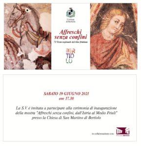 Mostra Affreschi senza confini - Inaugurazione @ Bertiolo (Ud) | Bertiolo | Friuli-Venezia Giulia | Italia