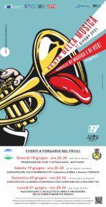 Festa della Musica 2021 - Suoni e luci sulla piana friulana @ Forgaria nel Friuli (Ud) | Forgaria Nel Friuli | Friuli-Venezia Giulia | Italia