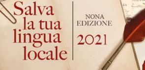 SALVA LA TUA LINGUA LOCALE: BANDO 2021