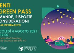 WEBINAR: EVENTI & GREEN PASS