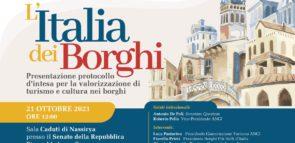 L'ITALIA DEI BORGHI – Conferenza stampa