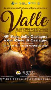 40^ Festa delle Castagne e del Miele di Castagno @ Valle di Soffumbergo, Faedis (UD) | Valle | Friuli-Venezia Giulia | Italia